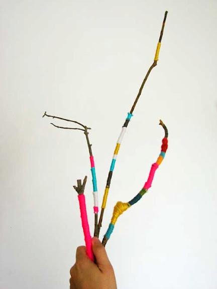 wrapping sticks w string