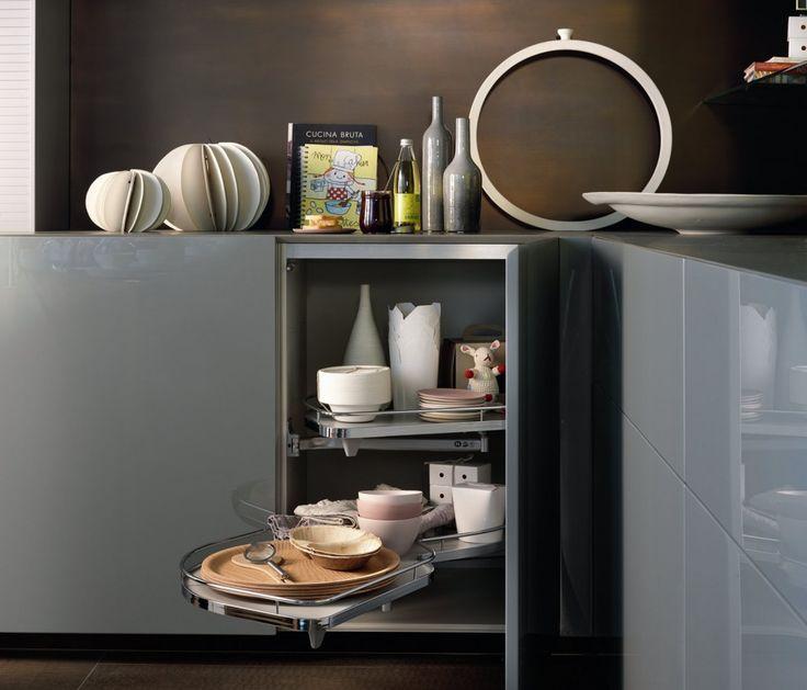 Cucina le soluzioni per l angolo arredamento d 39 interni che amo kitchen wardrobe furniture - La cucina di monica ...