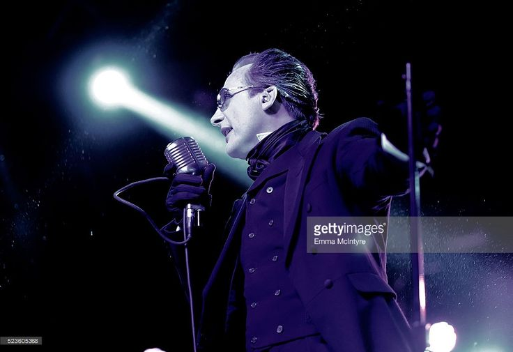 Musician Dave Vanian of The Damned performs onstage during day 2 of the 2016 Coachella Valley Music & Arts Festival Weekend 2 at the Empire Polo Club on April 23, 2016 in Indio, California.