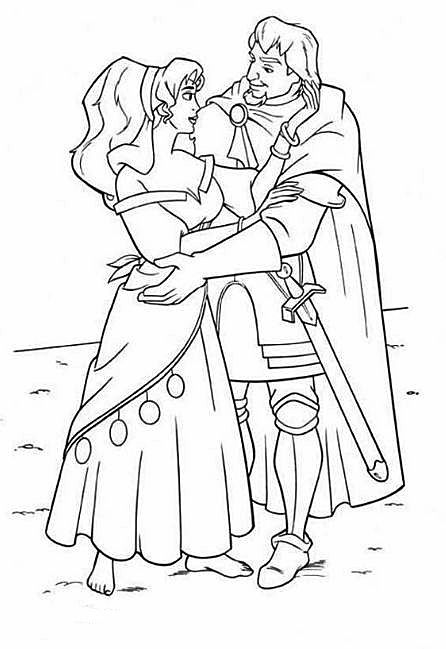 Disney Coloring Pages Hunchback Notre Dame : Best disney the hunchback of notre dame images on