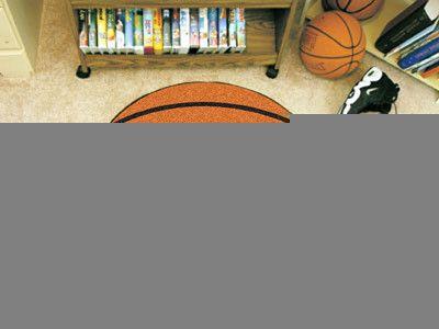 "NBA - Orlando Magic Basketball Mat 27"" diameter"
