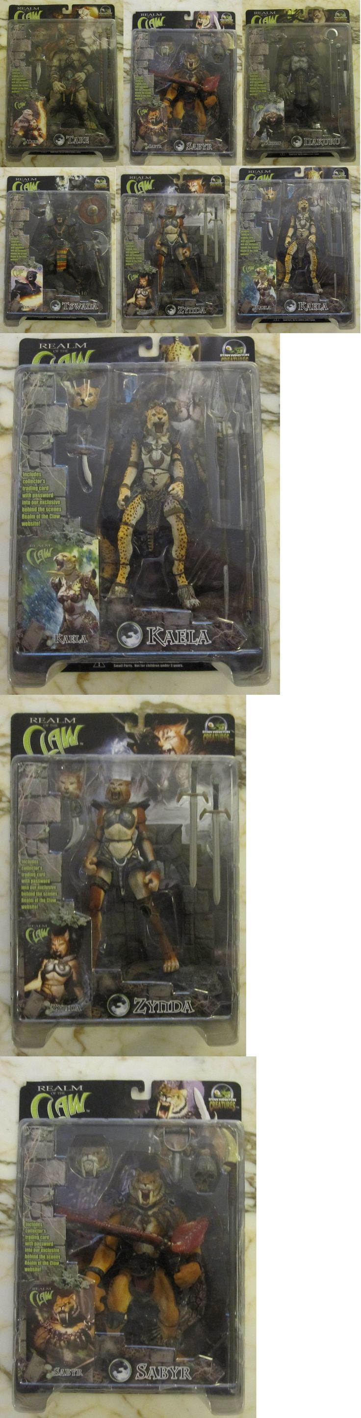 Fantasy 175693: Stan Winston - Realm Of The Claw Complete Set Mip Htf (6)(Spawn, Marvel, Dc) -> BUY IT NOW ONLY: $150 on eBay!