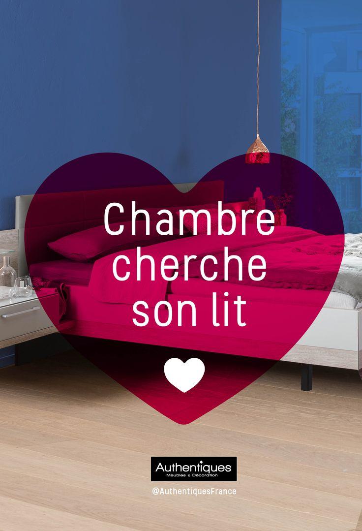 Chambre cherche son lit Faites vous plaisir, nous vous avons fait de jolies  cartes et bon cadeau à télécharger  et à imprimer !  @AuthentiquesFrance #carte #meubles  #saint-valentin #love #AuthentiquesFrance #Authentiques  #saintvalentin #amour #offrir #bons #cadeau #moitié #meubles #canap é #fauteuil #lit #chambre #salon #literie #matleas #séjour