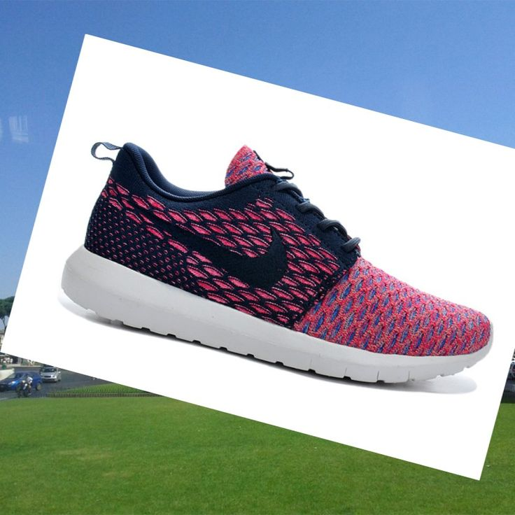 Nike Roshe Run Flyknit Rosa Scarpe Donna,,Fashion sneakers color and style  must be