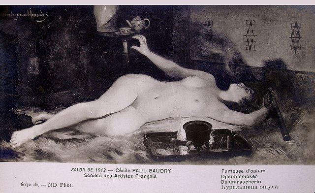 Cécile Paul-Baudry-Opium Smoker | Flickr - Photo Sharing!