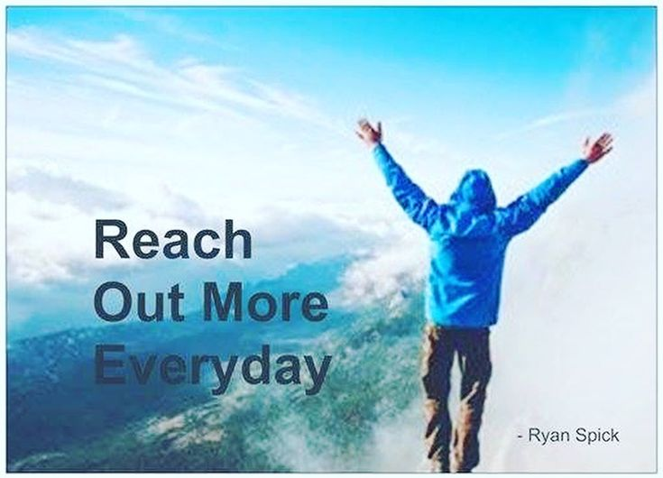 #Reach Out More Everyday