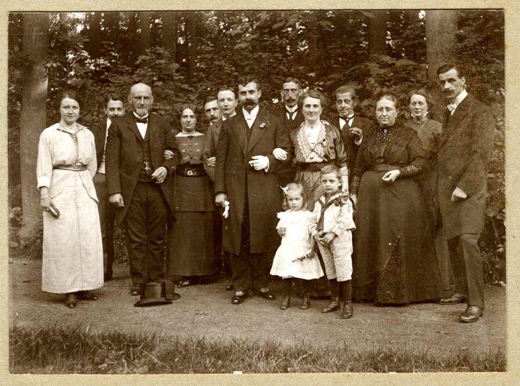 Foto gemaakt 11 augustus 1914 door fotograaf Herman Stokman. Verdere gegevens onbekend.