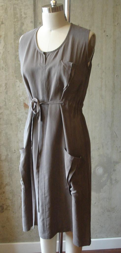 Feral Childe drawstring cargo dress