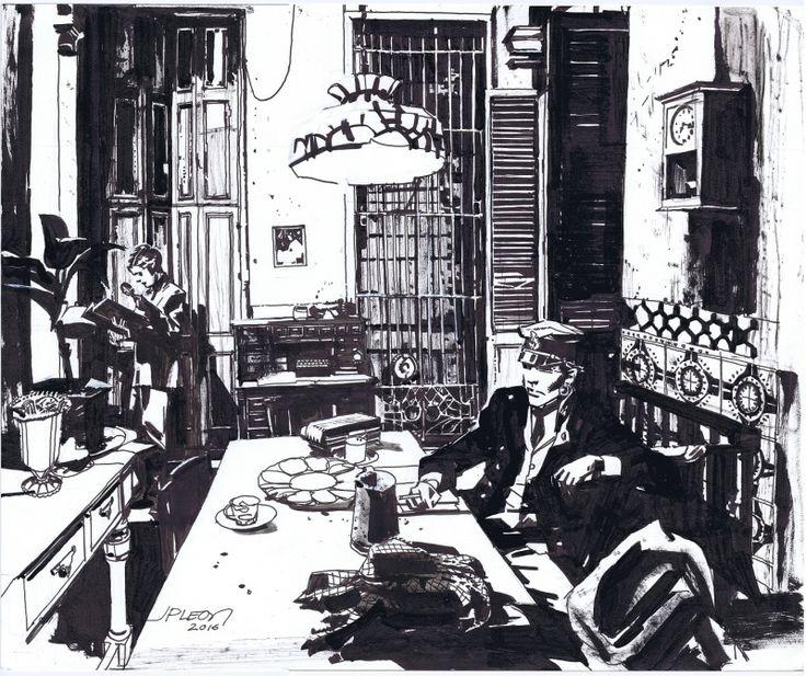 Corto Maltese in Havana by Jean Paul Leon by John Paul Leon - Illustration