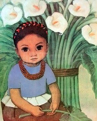 La Nina by Diego Rivera Art Experience NYC www.artexperiencenyc.com