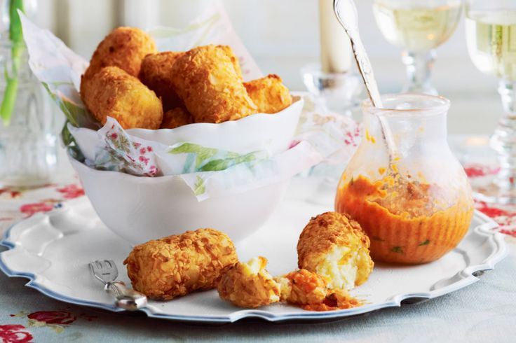 Serve these moorish croquettes as a starter to any meal.