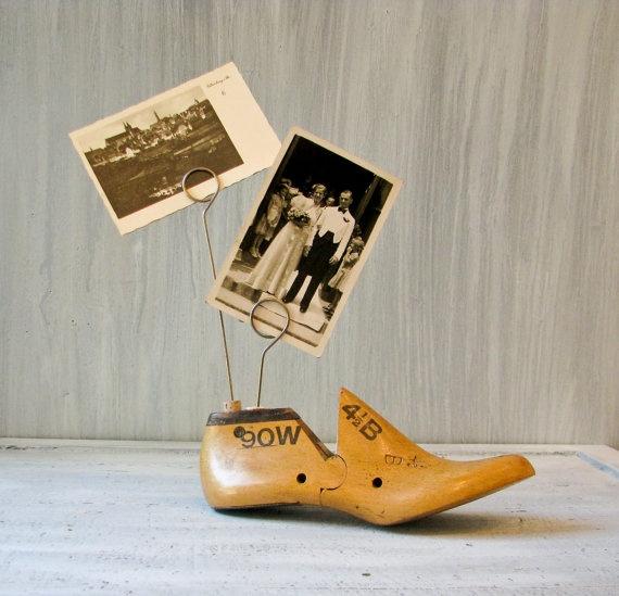 photo holder inserted into cork - brill