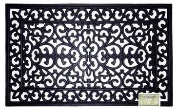 Smith & Hawken Rubber Doormat contemporary doormats