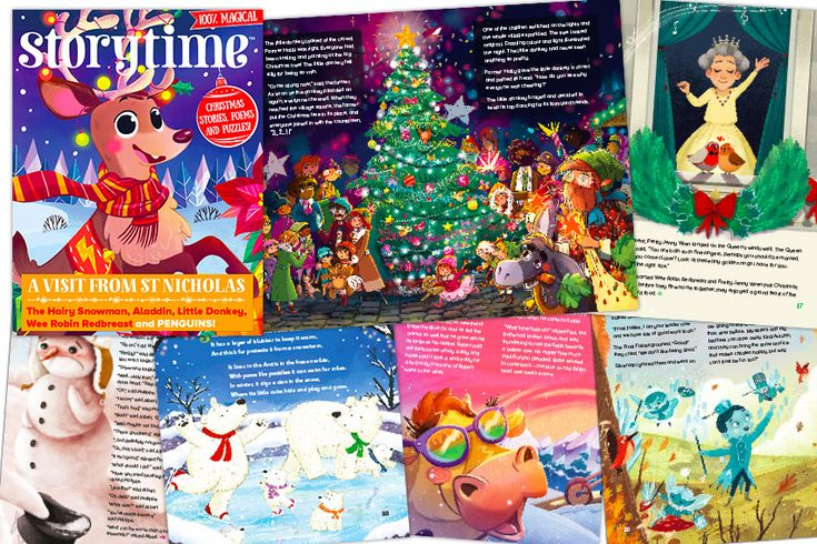 A peek inside our festive Christmas edition – Storytime Issue 40. Buy it from our shop! http://www.storytimemagazine.com/shop