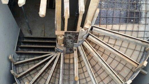 Spiral Stairs Formwork Details Pinterest Stairs