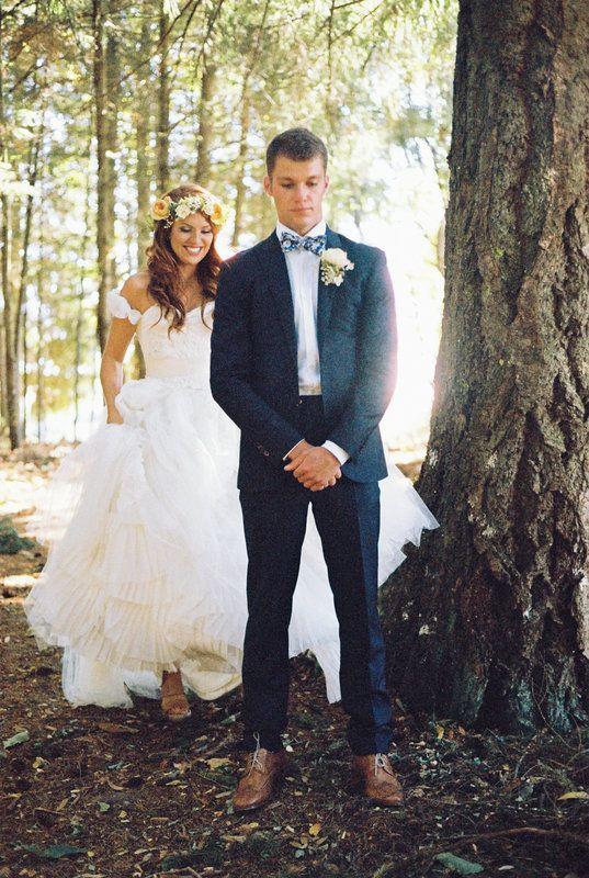 @stylemepretty @bridesmagazine @gws #wedding #firstlook first look photos  Photo By Christianne Taylor