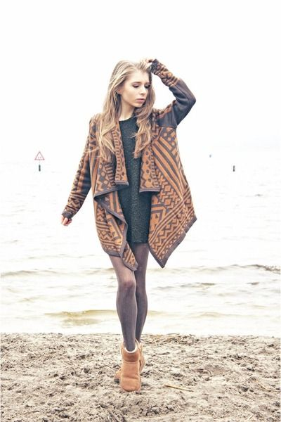 Add A Layer To Your Outfit By Putting On A Cardigan