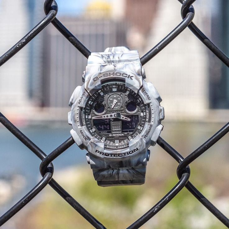 #MarbleSHOCK gets uncaged.  Link. Bio. Click that. by gshock_us