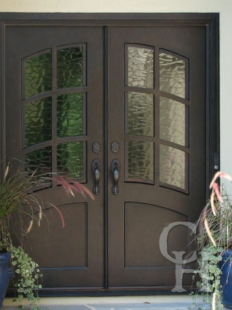 Exterior double doors for home home design for House plans with double front doors