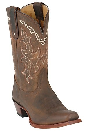 Do Not Buy these boots at Cavanders. You can find em at Sheplers for 115. Unfortunately, they don't honor competitors pricing   Tony Lama Vaquero Ladies Sorrel Taos Brown Punchy Square Toe Western Boot