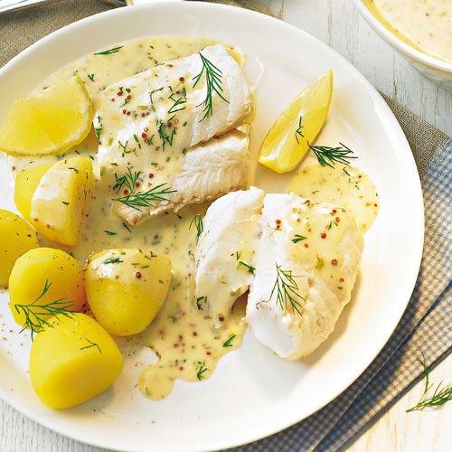 Fisch in Senfsoße - BRIGITTE
