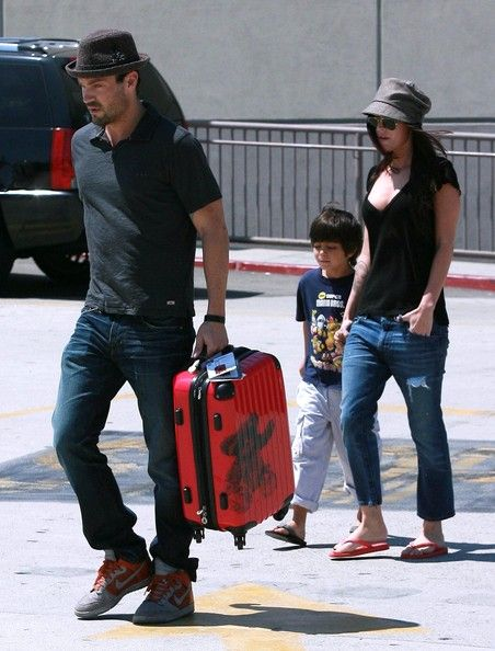 Megan Fox Photos: Megan Fox And Brian Austin Green Take His Son Shopping