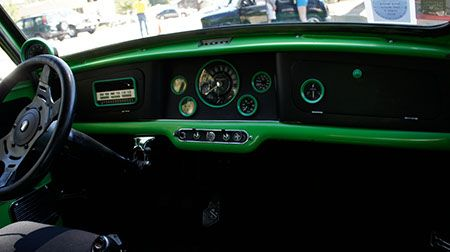 Classic mini custom dash vtec mini cooper pinterest for Dash designs car interior shop