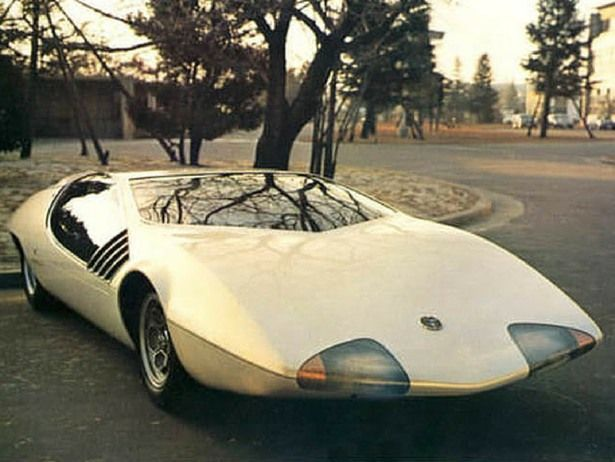 Toyota EX-III Concept Car (1969) #toyotaclassiccars