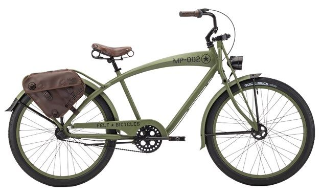 Leather Saddle Bags  Army Beach Cruiser  Pinterest  Saddles Bags And Leat