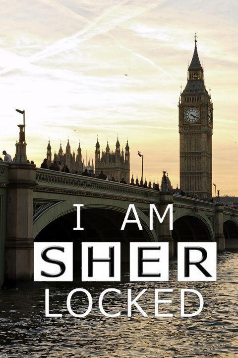 I am Sherlocked <3 - i dont watch Sherlock but my friends love it...i think ill give it a try