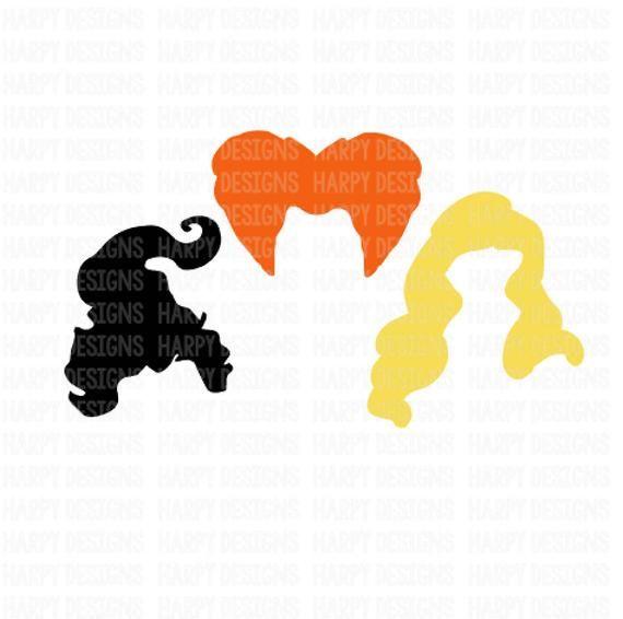 Hocus Pocus Svg Sanderson Sisters Svg Halloween Svg Cricut Files Silhouette Files Coloring Pages Free Clip Art Mini Paintings