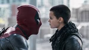 Deadpool (Ryand Reynolds) and Negasonic Teenage Warhead (Brianna Hildebrand)