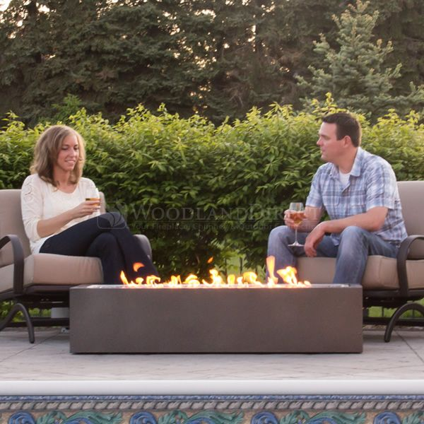 Napoleon Linear PatioFlame Outdoor Gas Fire Pit | WoodlandDirect.com: Outdoor Fireplaces: Fire Pits - Gas