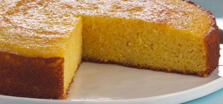 Aprende a preparar esta receta de Torta de naranja apta celíacos, por Anna Olson en elgourmet