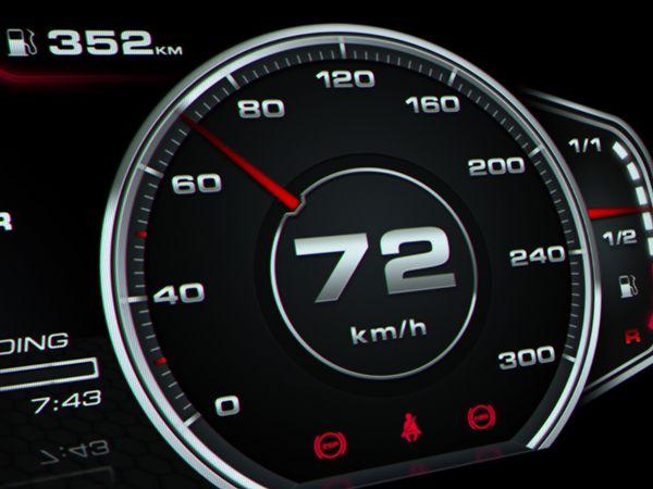 Audi R8 Digital Speedometer Concept on Behance | Digital ...