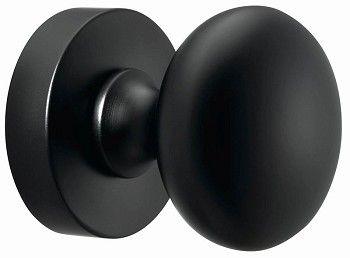 Voordeur > Deurknop > Voordeurknop Daphne Noir - NIKO deurkrukspeciali