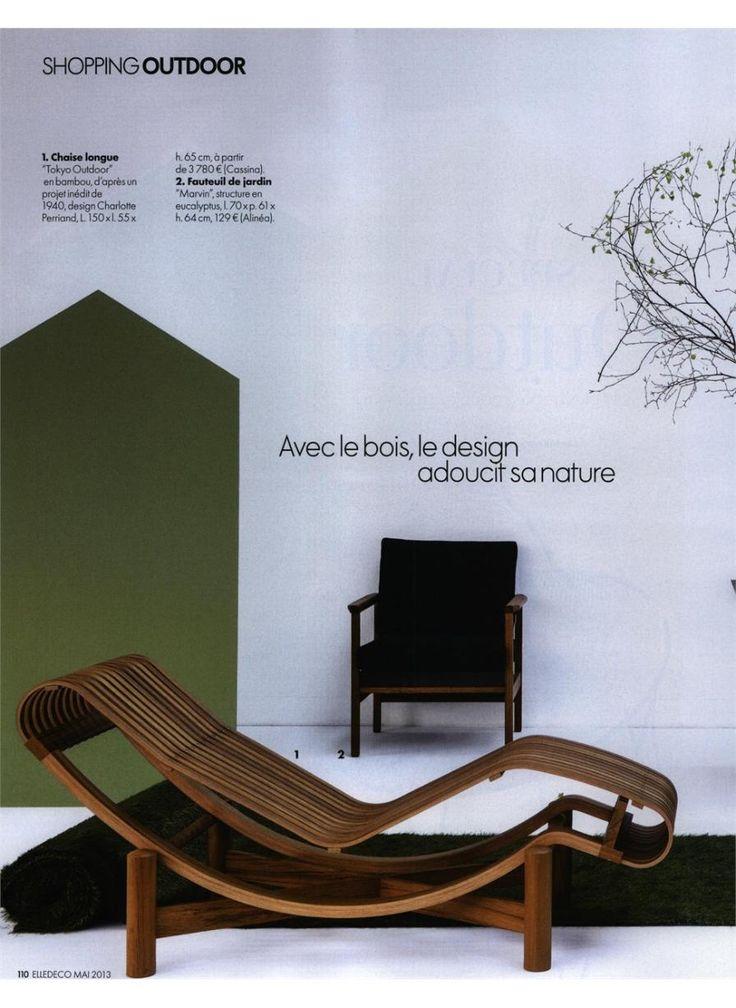 ELLE DECORATION - TOKYO OUTDOOR, design Charlotte Perriand