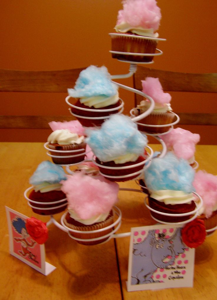 Baby Shower Cupcake Flavor Ideas : horton hears a who baby shower - Google Search Laurie s ...