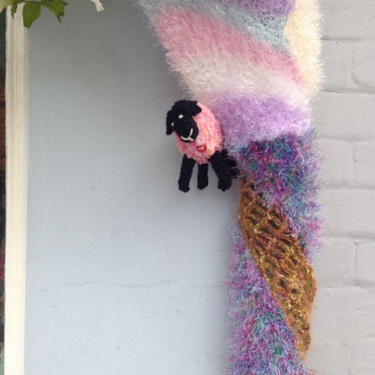 #yarn #bombing in West Street #Dorking #yarnbombing