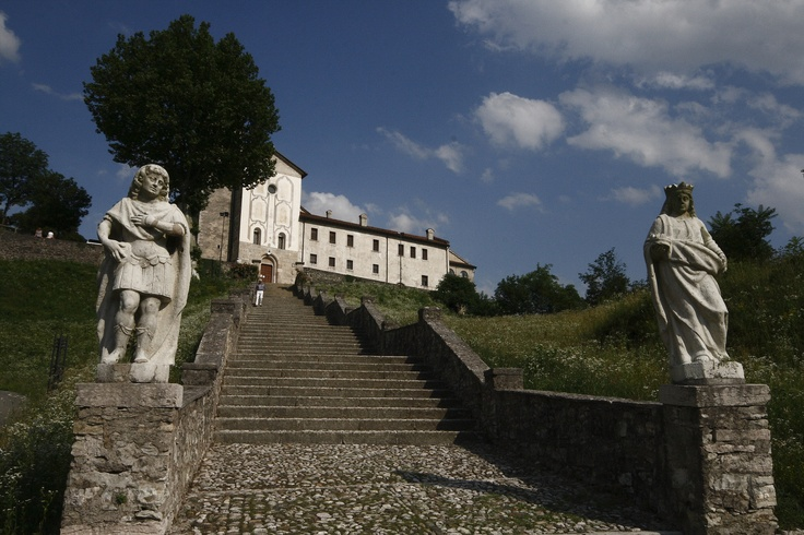 San Vittore and Corona, a convent for spiritual prayers in Feltre, Italy
