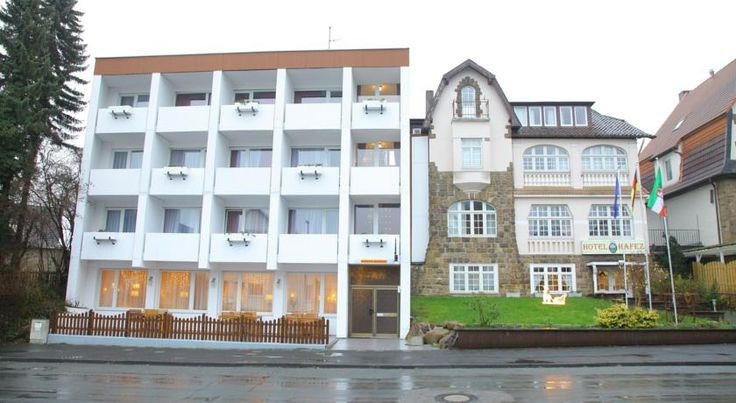 Hotel Hafez Bad Salzuflen This 3-star hotel offers rooms with a balcony, free Wi-Fi internet and free parking. It lies a 2-minute walk from the Spa Gardens in the spa town of Bad Salzuflen.  All rooms at the Hotel Hafez include a flat-screen TV.