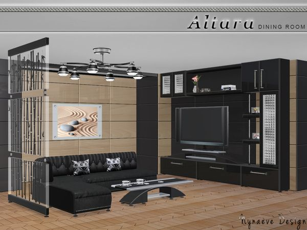 Altara Living Room By NynaeveDesign At TSR Via Sims 4 Updates Sims4 Downloaded