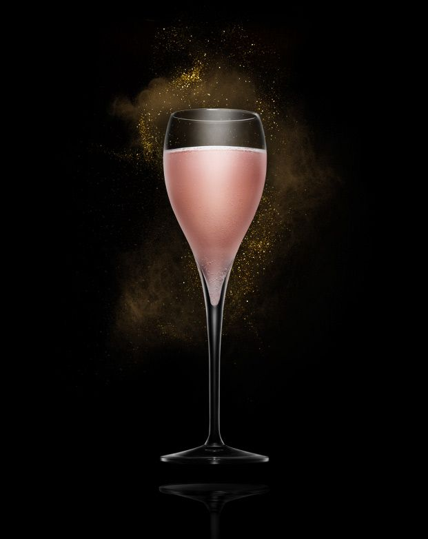 Naughty Bellini 1 part Absolut Apeach 1 part peach Puree top up with Absolut Tune