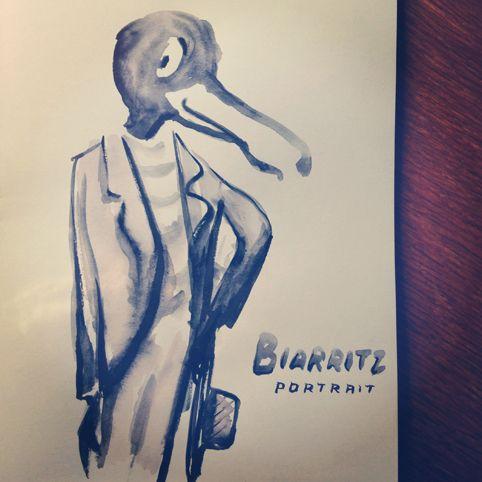 Biarritz portrait