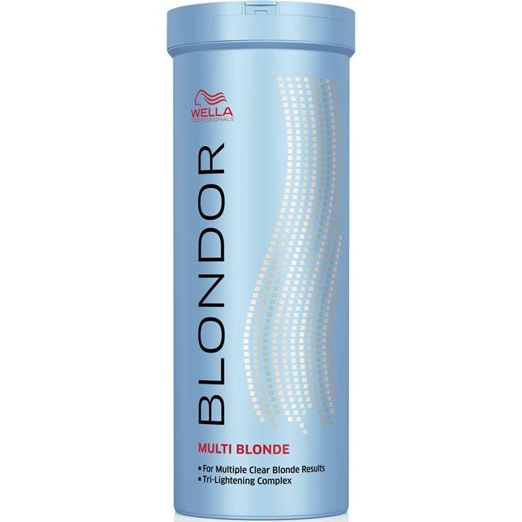 Wella Professionals Blondor  used 