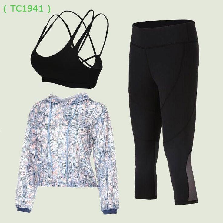 VANSYDICAL Yoga Sets Women Sports Fitness Workout Set T-shirts + Bra + Shorts Yoga Leggings for Sport Suit Women Yoga Clothes XL