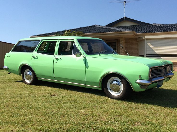 Holden Ht Wagon 1970 Holdens Aussie Muscle Cars