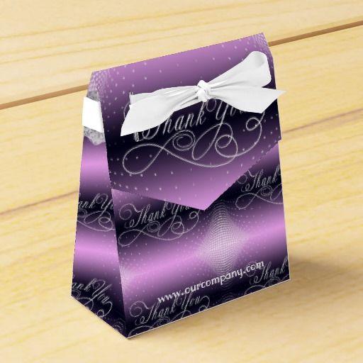 Thank You Halftone Pattern Purple  #thankyou#favorboxes#elegantpurplepartyfavors