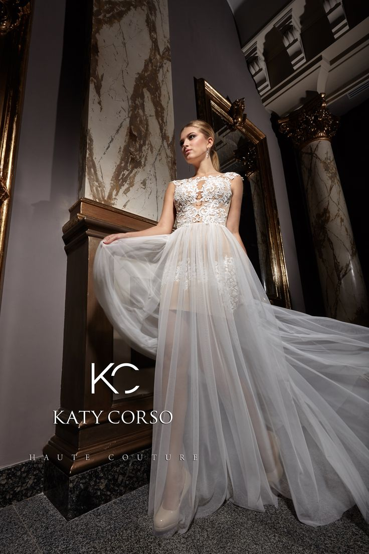 Gorgeous dresses of brand Katy Corso!  Magical Blum will make Your wedding day perfect http://katycorso.com/blum.html! #KatyCorso #Weddingdresses #HauteCouture #brand