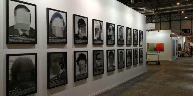 Artist Decries Censorship after ARCOmadrid Removes His Portraits of Political Prisoners http://lnk.al/6bQk @artforum #artnews